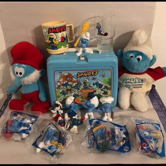 Old Smurf items